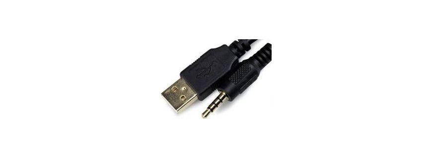Filaires USB ou jack