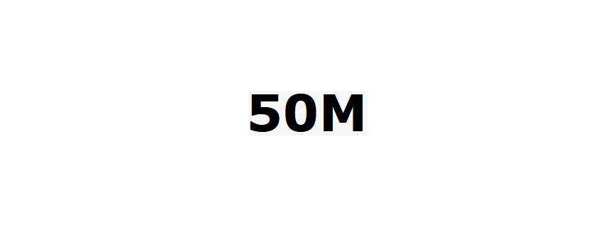 50mètres