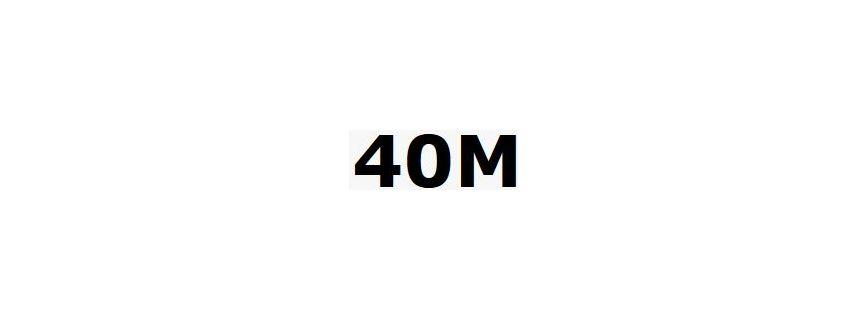 40mètres
